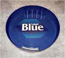 Blue Plastic Liquor Beverages Serving Tray, Labatt Blue, Beer Advertisement