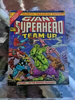 Marvel Treasury Special #9 Giant Super-Hero Team Up 1976 Marvel Comics