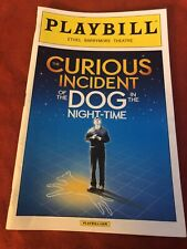 The Curious Incident of the Dog in the Night-time October 2014 Broadway Playbill