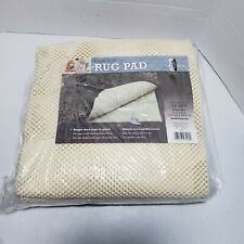 Mohawk Home Area Rug Pad Better Stay Rug Pad 4'8 X 7'6  Ivory New