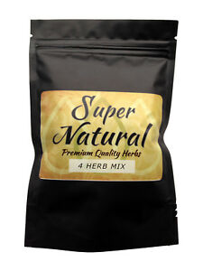 Super Natural 4 Herb Mix  Smooth Herbal Blend with Marshmallow Leaf & Papaya 25g