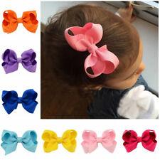 20 stücke Kinder Baby Mädchen Kinder Kleinkind Blumen Haarspange Bogen Zubeh_PF
