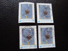 VATICAN - timbre yvert et tellier n° 1015 x4 obl (A28) stamp (A)