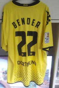 BVB Borussia Dortmund Trikot Kappa 11/12 Bender 22 Meisterpatch XXL