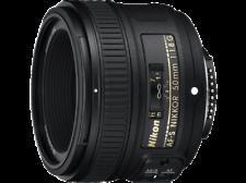 Objetivos Nikon f/1, 8 50mm para cámaras