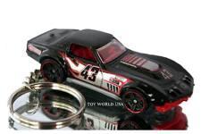 Custom Key Chain '69 Chevy COPO Corvette black