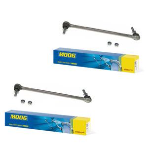 For BMW E82 E88 E89 E90 E92 E93 Pair Set of 2 Front Sway Bar End Links Moog