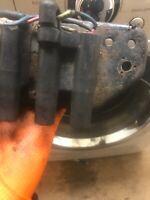 """Lucas 317376 Coche Clásico /""""S/"""" Arranque Negro Perilla Para MGA British Made AHH5327"""