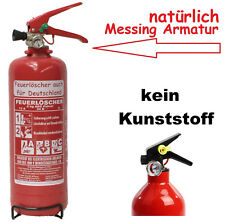 NEU OVP  2 kg  ABC Feuerlöscher EN 3 + Drahthalter + Manometer Autofeuerlöscher