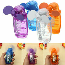 Mini Portable Pocket Fan Cool Air Hand Held Battery Travel Holiday Blower Cooler