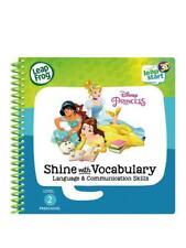 LeapStart 3d Enhanced Book Disney Princesses Shine With Vocabulary - LeapFrog FR