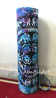 Large Yoga Mat Carrier Bag with Shoulder Strap Indian Tie Dye Handmade Gym Bags