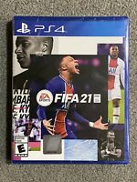 FIFA 21 PS4 PS5 Playstation 4 Brand New Factory Sealed Free Shipping