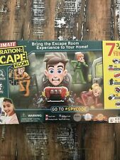 Spy Code Ultimate Operation Escape Room Game. NEW SEALED!!!