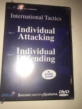 Soccer Internatioinal Tactics Individual Attacking Defending 2 DVD Set
