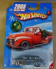 Hot Wheels 2008 Holiday Rods - Chevy Nomad - Metalflake Light Blue