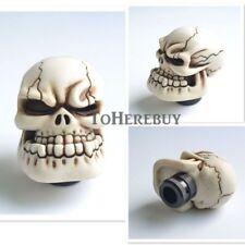 Skull Head Universal Shifter Gear Lever Shift Knob Manual Stick For Car Auto