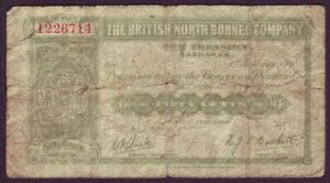 British North Borneo Company • 1938 • Fifty Cents (50c)