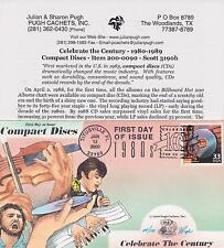 2000 PUGH CACHETS HAND PAINTED FIRST DAY COVER CELEBRATE CENTURY - COMPACT DISCS
