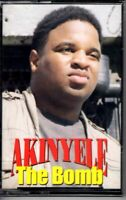 NEW Akinyele The Bomb 1993 Cassette Tape Maxi Single Hiphop Rap