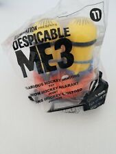 """McDonald's Happy Meal Toy Despicable ME3 """"Hilarious Hockey Minions"""" #11"""