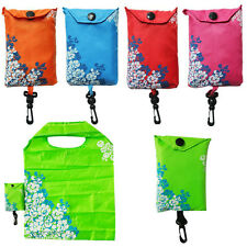 Reusable Foldable Handy Shopping Bag Tote Pouch Recycle Storage Grocery Handbags