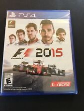 F1 2015 (FORMULA ONE) PS4 BRAND NEW IN WRAPPER