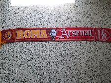 sciarpa ROMA - ARSENAL champions league 2009 football club scarf