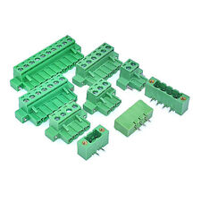 2P to 12P With Screw KF2EDG-5.08mm Terminal Block Set Straight/Bent Pin + Plug