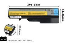 Battery L09L6Y02 for Lenovo G460 G470 Z460 Z470 Z475 B470 Z560 G465A G475 G560
