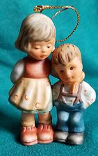"""Goebel Hummel """"Little Brother"""" Porcelain Christmas Ornament"""