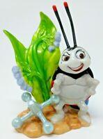 """VINTAGE Disney Francis Bug's Life LADYBUG 5"""" Ceramic FIGURINE FIGURE Sri Lanka"""
