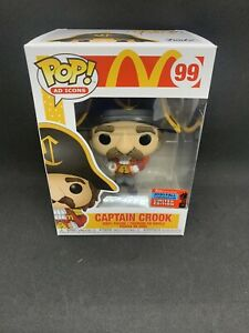 Funko Pop! NYCC 2020 McDonald's Captain Crook Funko Shop Exclusive- IN HAND!