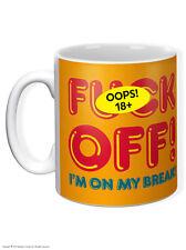 BrainBox Candy Grosero Gracioso F * CK fuera estoy en mi romper Taza De Café Taza De Té! Regalo De Navidad