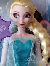 "Disney Frozen Exclusive 16"" Singing Elsa Doll – BEAUTIFUL! New!"