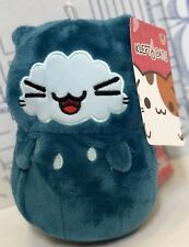 "New KLEPTOCATS PLUSH Oli Blue 6"" GOOD Stuff TOY Klepto CAT Hyperbeard Doll Kitty"