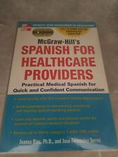 Mcgraw-Hill's Spanish For Healthcare Providers by Joanna Rios
