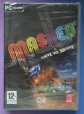MASHED DRIVE TO SURVIVE PC CD-ROM RACING GAME brand new & sealed UK ORIGINAL