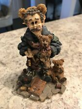 Boyds Bears T. H. Bean.The Bearmaker Elf #8505 Mark Twain