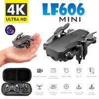 Mini Drone 2020 New WIFI FPV With Wide Angle HD 4K 1080P Camera Hight Hold Mode