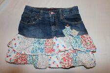 The Children's Place Girls Denim jean Skirt 8 layers PERFECT 4 SCHOOL 7056