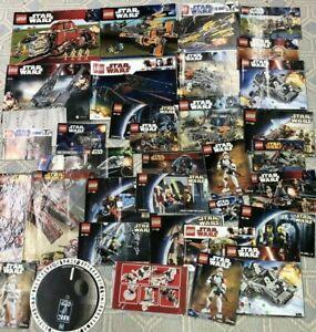 LEGO Instruction Manuals: Star Wars