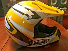 HJC CL-X3 Motocross Motorcycle Dirt Bike Small Helmet w/ Free pair of goggles!