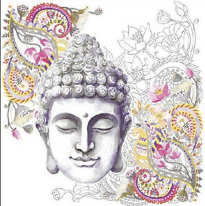 20 Paper Party Napkins Buddha Stone Pack Of 20 3 Ply Luxury Serviettes