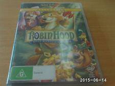 ROBIN HOOD DVD R4 DISNEY ANIMATED CLASSIC  **BRAND NEW**