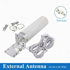 3G 4G TS9 Male External LTE Signal Booster Antenna Outdoor Router Modem TU