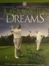 Brooks Robinson Autograph 2007 Hall Of Fame Memories & Dreams Magazine Babe Ruth