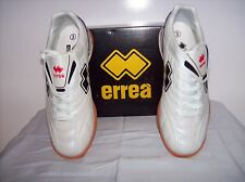Errea Spinner Futsal (Indoor) Shoe, White with rubber sole, Adult UK size 3, New