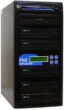 ProDuplicator 5 Burner 24X CD DVD Duplicator Multi Disc Copier Replicating Tower