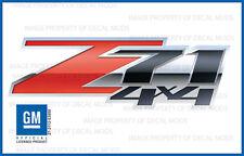 07 - 13 Chevy Silverado Z71 4x4 Decals Set - FS 3D - Truck Bed Side Stickers